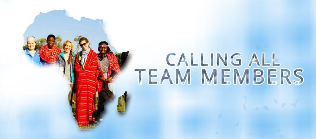 Calling All Team Members!
